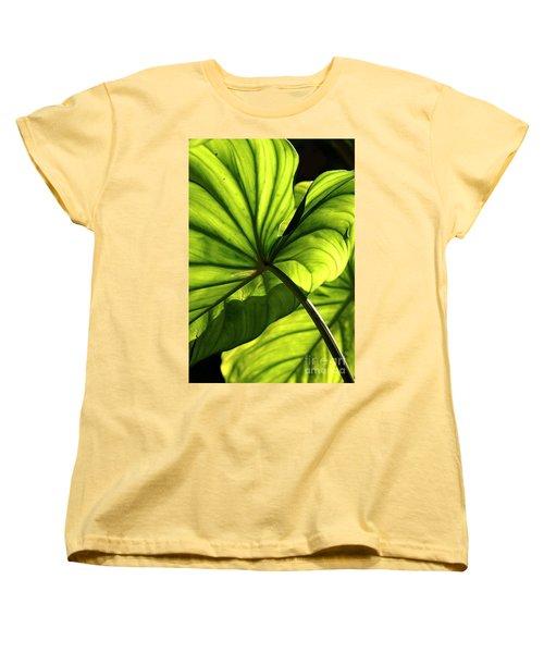 Women's T-Shirt (Standard Cut) featuring the photograph Shapes Of Hawaii 12 by Ellen Cotton