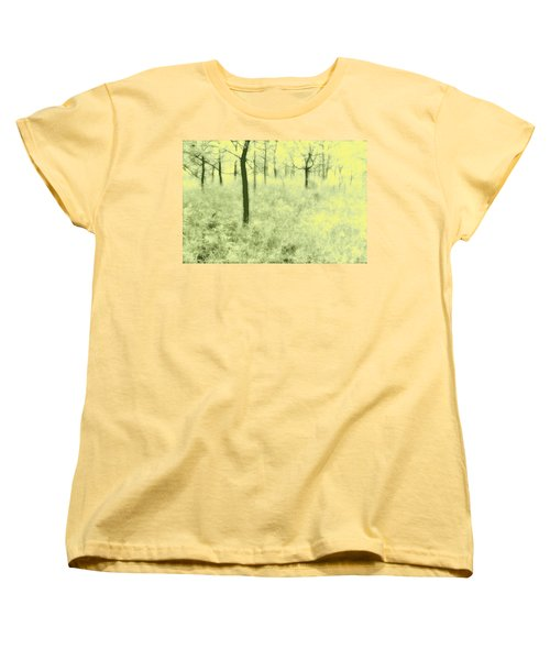 Women's T-Shirt (Standard Cut) featuring the photograph Shimmering Spring Day by John Hansen