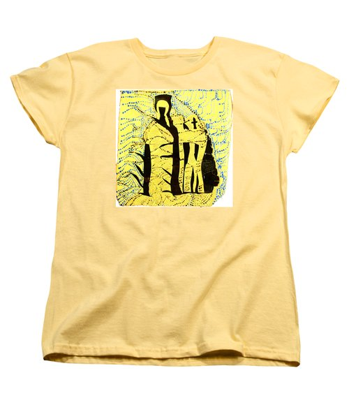 Shroud Of Jesus Women's T-Shirt (Standard Cut) by Gloria Ssali