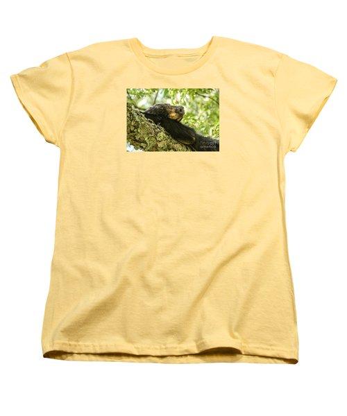 Sleeping Bear Women's T-Shirt (Standard Cut) by Debbie Green