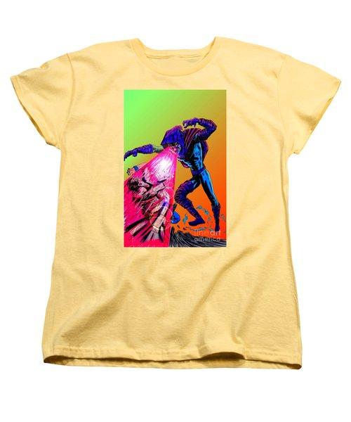 Sleepwalker 1d Women's T-Shirt (Standard Cut) by Justin Moore