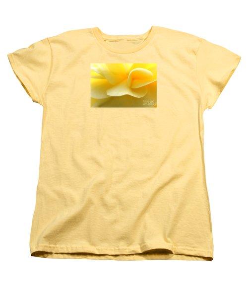 Soft Yellow Women's T-Shirt (Standard Cut)