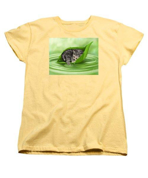 Softly Lulled Women's T-Shirt (Standard Cut) by Veronica Minozzi