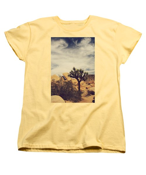 Solitary Man Women's T-Shirt (Standard Cut) by Laurie Search
