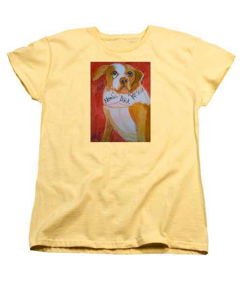 Spencer The Pit Bull Women's T-Shirt (Standard Cut)