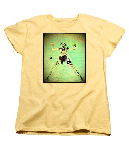 Spread Eagle Women's T-Shirt (Standard Cut) by Jacqueline McReynolds