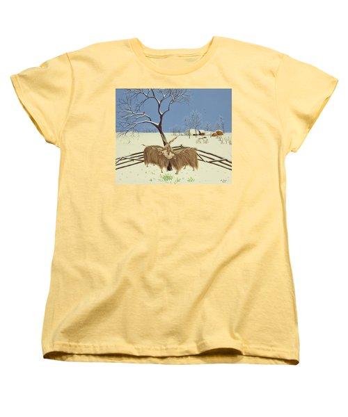Spring In Winter Women's T-Shirt (Standard Cut)
