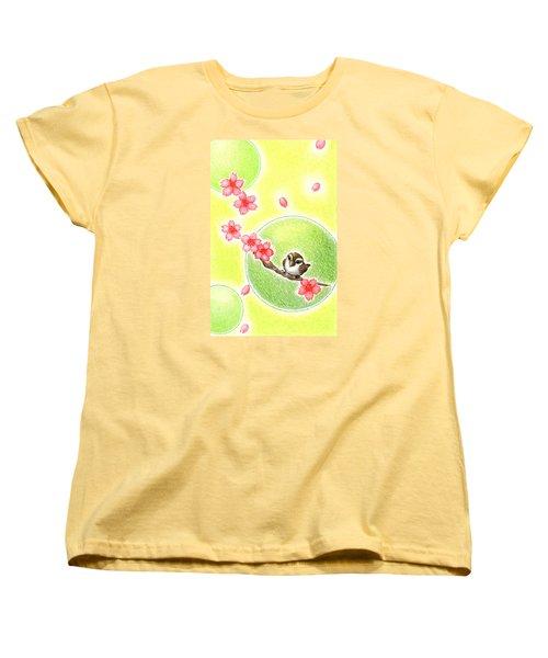 Spring Women's T-Shirt (Standard Cut) by Keiko Katsuta