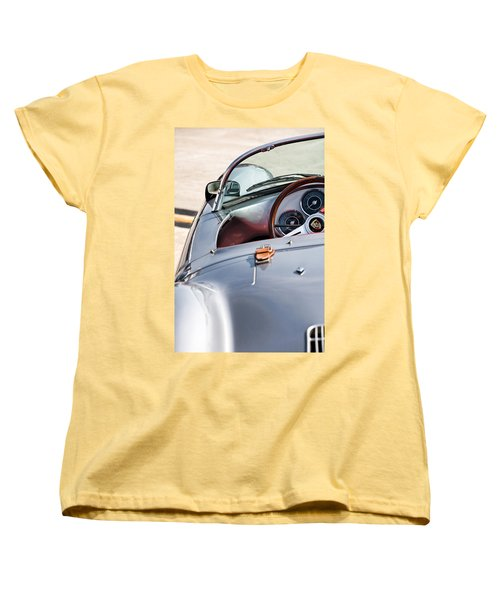 Spyder Cockpit Women's T-Shirt (Standard Cut) by Peter Tellone