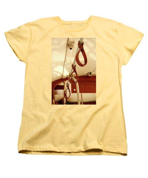 Women's T-Shirt (Standard Cut) featuring the photograph St. Charles Streetcar by KG Thienemann