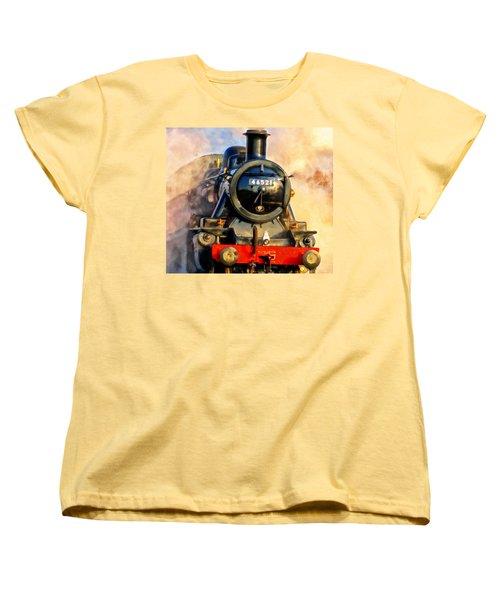 Steam Power Women's T-Shirt (Standard Cut) by Michael Pickett