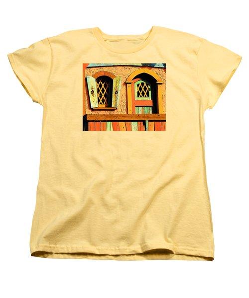 Storybook Window And Door Women's T-Shirt (Standard Cut)