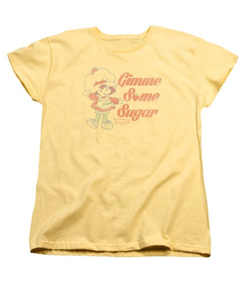 Strawberry Shortcake - Gimme Some Sugar Women's T-Shirt (Standard Cut) by Brand A