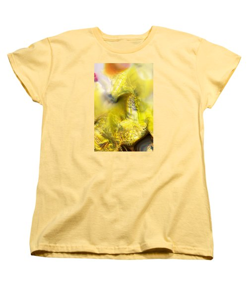 Women's T-Shirt (Standard Cut) featuring the digital art Summer Barley by Richard Thomas