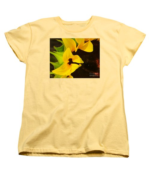 Women's T-Shirt (Standard Cut) featuring the photograph Sun Worshipper by Joy Hardee
