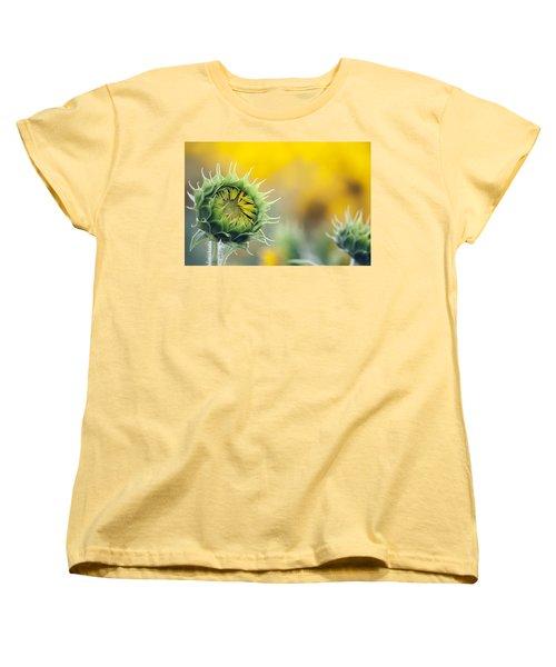 Sunflower Bloom Women's T-Shirt (Standard Cut)