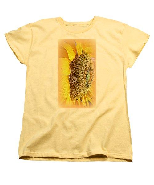 Sunflower Women's T-Shirt (Standard Cut) by Kay Novy