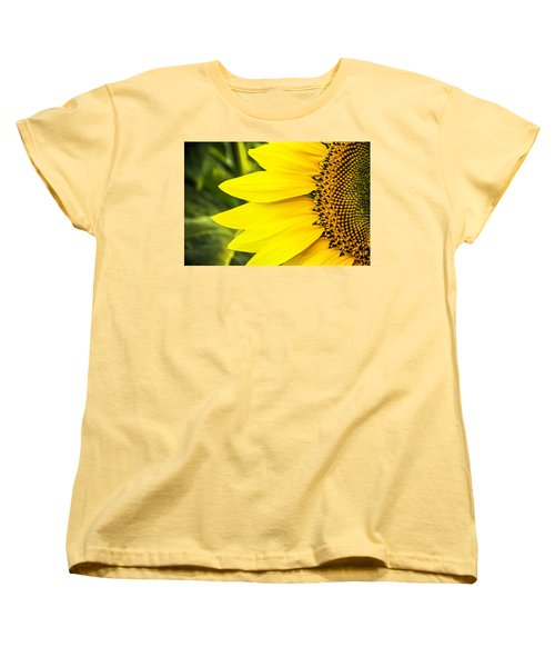 Sunflower Sunshine Women's T-Shirt (Standard Cut) by Steven Bateson