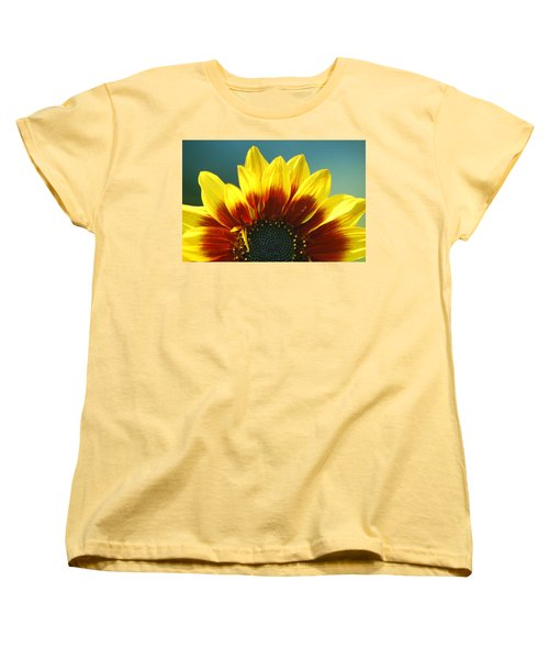 Women's T-Shirt (Standard Cut) featuring the photograph Sunflower by Tam Ryan