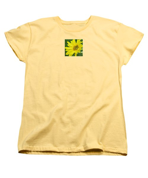 Women's T-Shirt (Standard Cut) featuring the photograph Sunny Side Up by Janice Westerberg