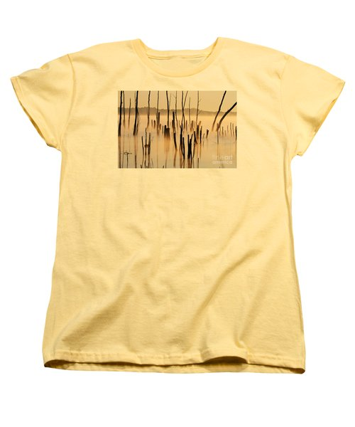 Sunrise Mist Women's T-Shirt (Standard Cut) by Roger Becker