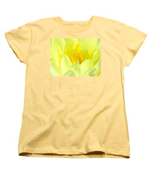 Swarna Kamal Women's T-Shirt (Standard Cut) by Sonali Gangane