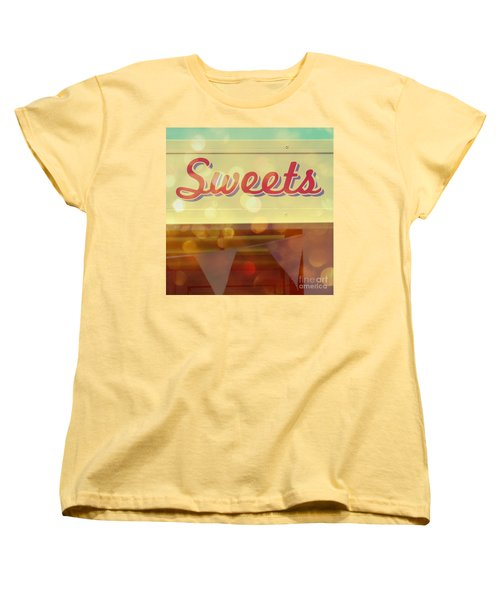 Sweets Women's T-Shirt (Standard Cut) by Valerie Reeves