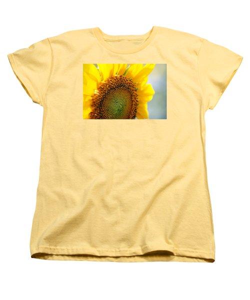 Texas Sunflower Women's T-Shirt (Standard Cut) by Debi Demetrion