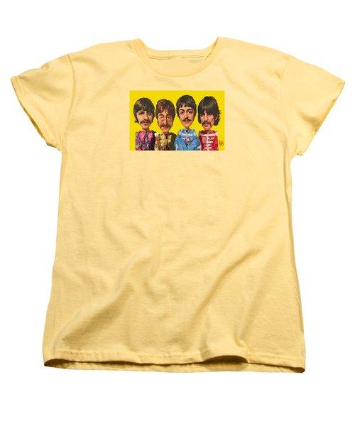 The Beatles Women's T-Shirt (Standard Cut) by Scott Ross