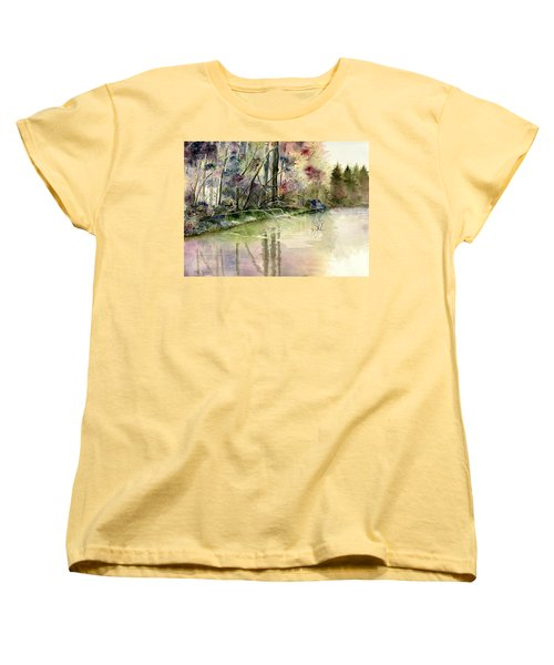 The End Of Wonderful Day Women's T-Shirt (Standard Cut) by Melly Terpening