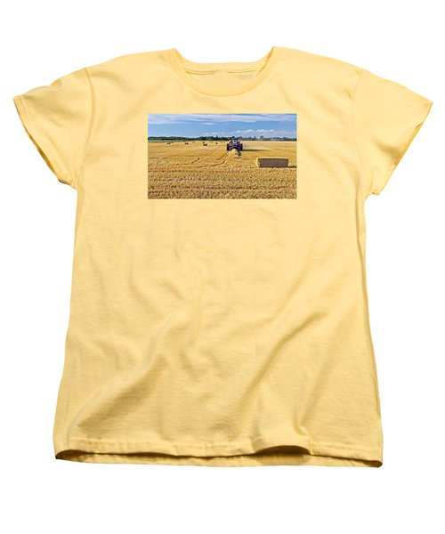 The Harvest Women's T-Shirt (Standard Cut) by Keith Armstrong
