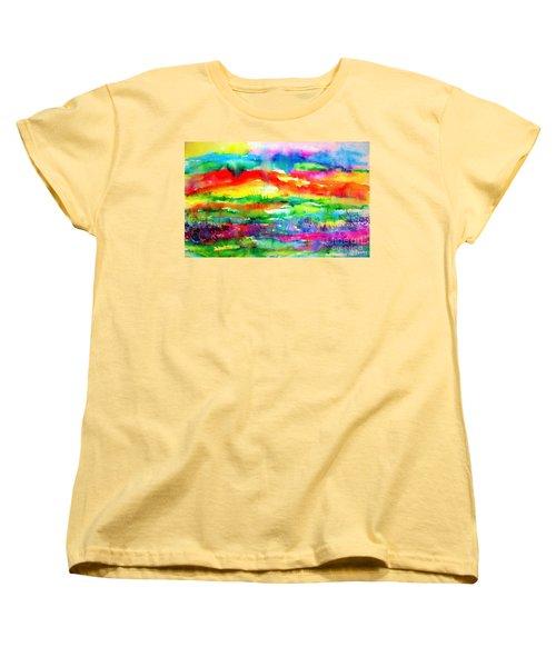 The Living Desert Women's T-Shirt (Standard Cut) by Hazel Holland