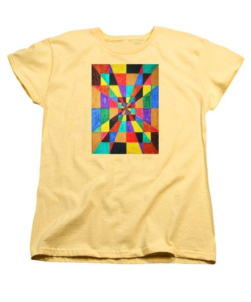 The Matrix  Women's T-Shirt (Standard Cut) by Stormm Bradshaw