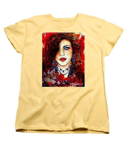 The Model Women's T-Shirt (Standard Cut) by Natalie Holland