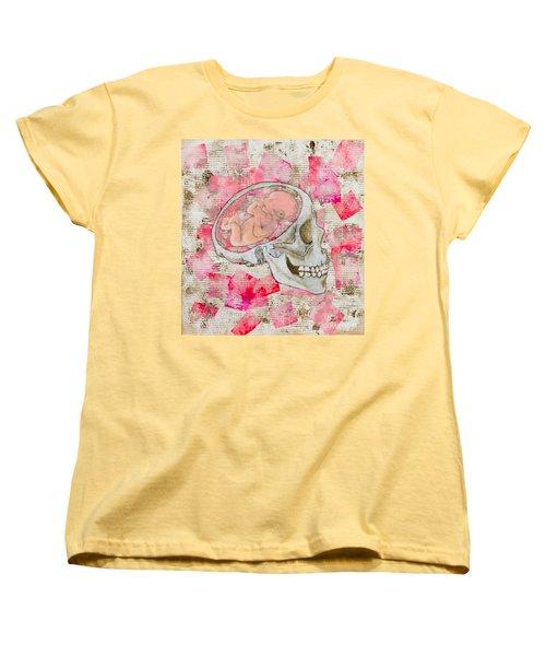 The Origin Of War Women's T-Shirt (Standard Cut) by Stefanie Forck