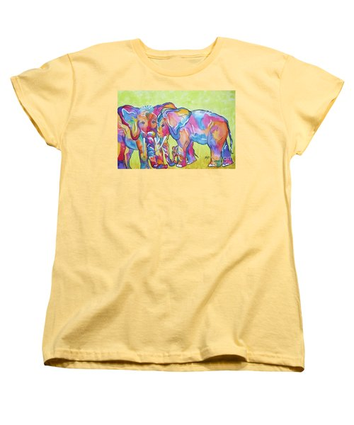 The Protectors Women's T-Shirt (Standard Cut) by Ellen Levinson