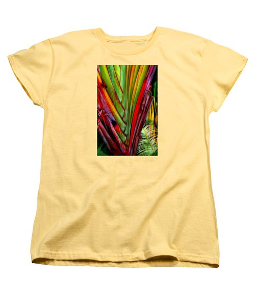 The Red Jungle Women's T-Shirt (Standard Cut) by Joseph J Stevens
