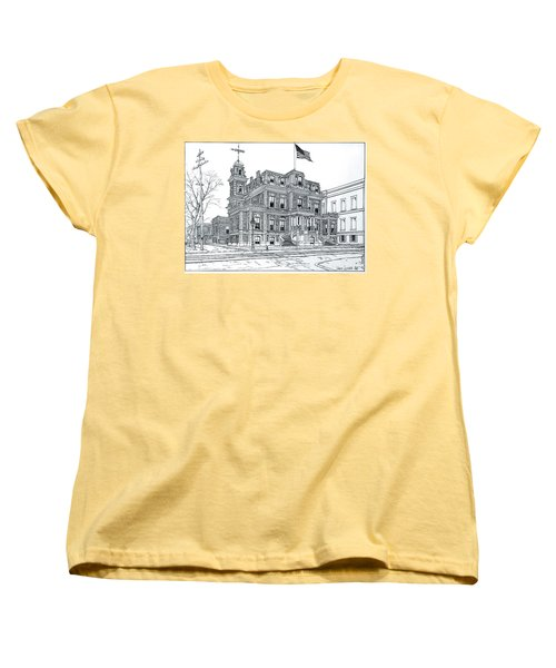 The Union League Philadelphia 1867 Women's T-Shirt (Standard Cut) by Ira Shander