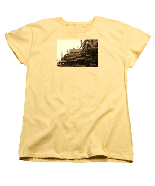 The Worm Passageways Women's T-Shirt (Standard Cut) by Marcia Lee Jones