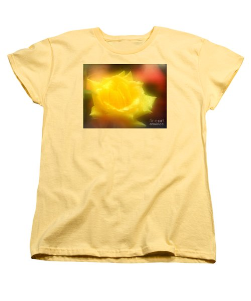 Women's T-Shirt (Standard Cut) featuring the photograph New Orleans  Yellow Rose Of Tralee by Michael Hoard