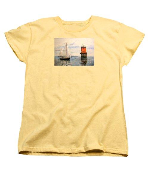 Thimble Shoals Light Women's T-Shirt (Standard Cut) by Stan Tenney