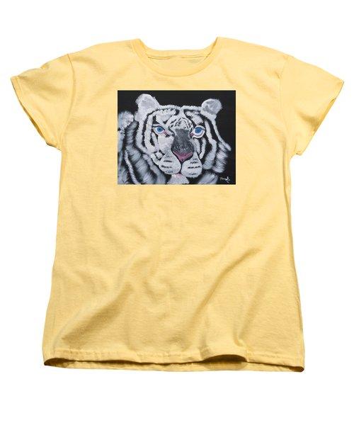 Jungle Eyes Women's T-Shirt (Standard Cut) by Meryl Goudey
