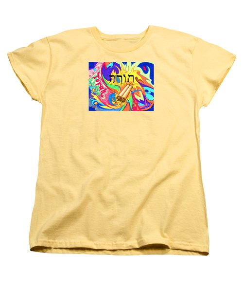 Torah Women's T-Shirt (Standard Cut) by Nancy Cupp