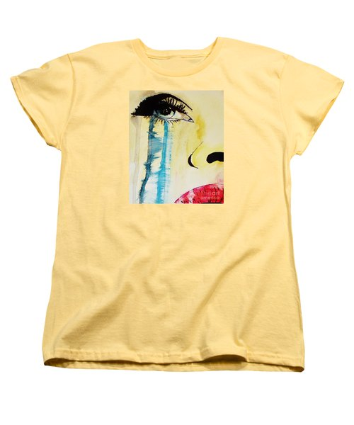 Women's T-Shirt (Standard Cut) featuring the painting Tougher Than You Think 2 by Michael Cross