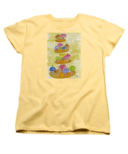 Tower Of Treats Women's T-Shirt (Standard Cut) by AFineLyne