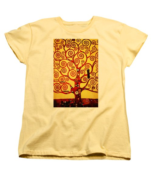 Tree Life Women's T-Shirt (Standard Cut) by Celestial Images