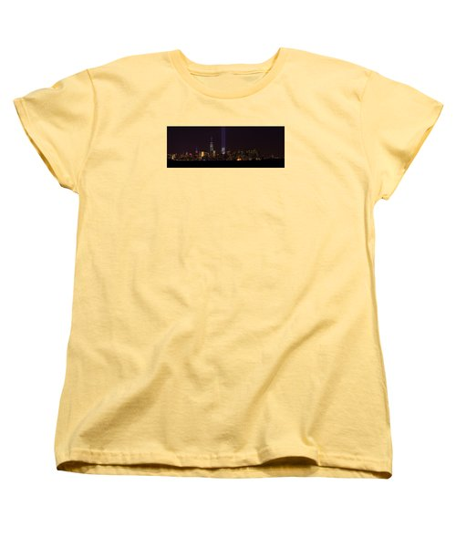 Tribute In Light 9.11 Women's T-Shirt (Standard Cut) by Kenneth Cole