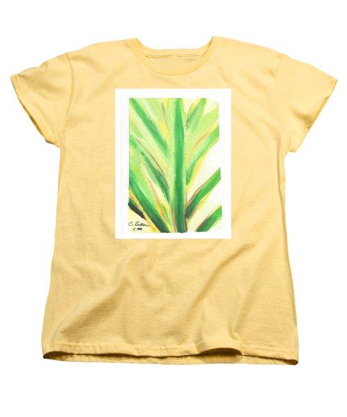 Tropical Leaf Women's T-Shirt (Standard Cut) by C Sitton