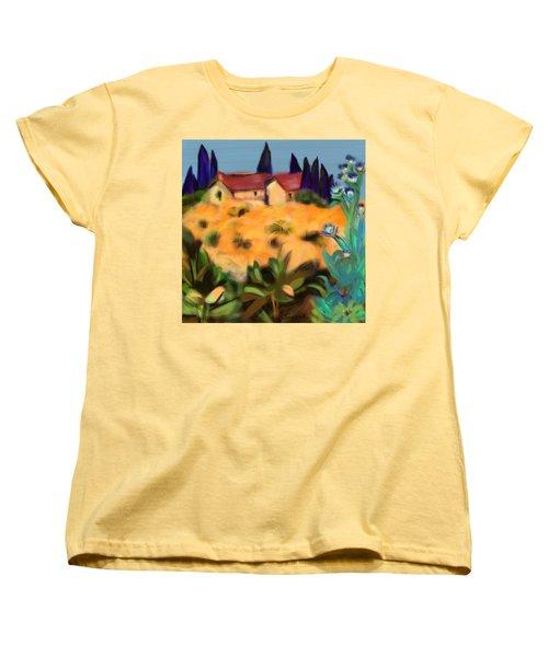 Tropical View Women's T-Shirt (Standard Cut)