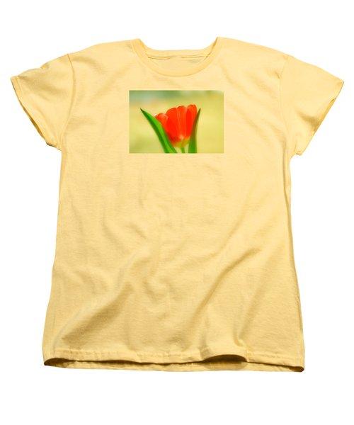 Tulip  Women's T-Shirt (Standard Cut) by Menachem Ganon